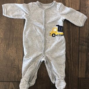 Carter's One Pieces - 3 Months Size Baby Boy Sleeper Footies